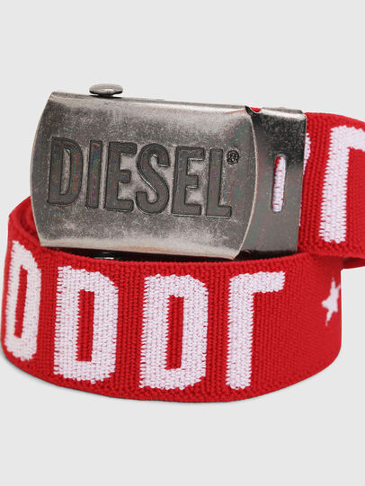 Diesel - BARTY, Red/White - Belts - Image 2