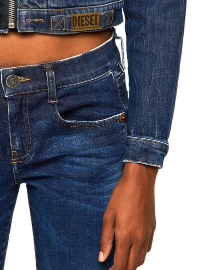 Diesel - DE-BLONDY, Dark Blue - Denim Jackets - Image 4