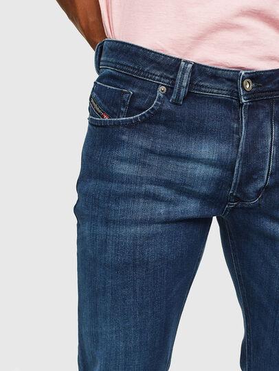 Diesel - Larkee 0095T, Dark Blue - Jeans - Image 3