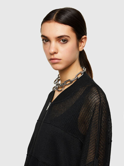 Diesel - M-ALEXA, Black - Knitwear - Image 4