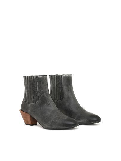 Diesel - D-TEXANNE CH, Dark Green - Ankle Boots - Image 2