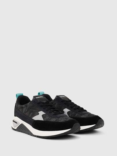 Diesel - S-KB LOW LACE II, Black/Dark grey - Sneakers - Image 2