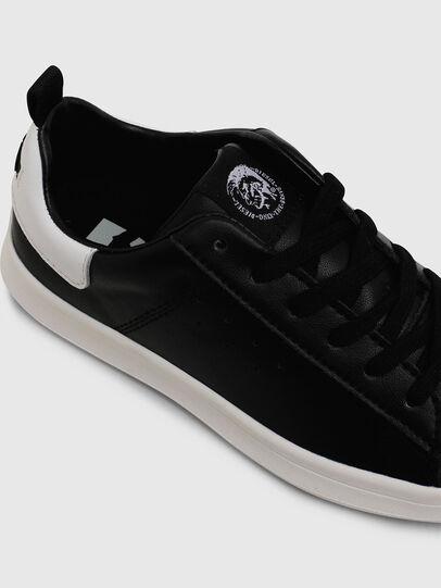 Diesel - SN LOW LACE 11 FULL, Black/White - Footwear - Image 4