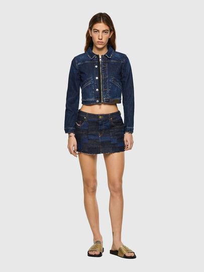 Diesel - DE-JEYJEY, Medium blue - Skirts - Image 5