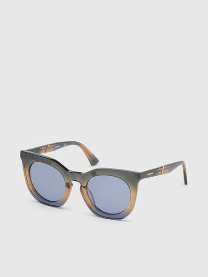 Diesel - DL0283, Blue/Yellow - Sunglasses - Image 2
