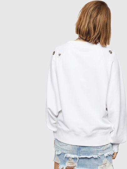 Diesel - F-HENNY-B, White - Sweaters - Image 2