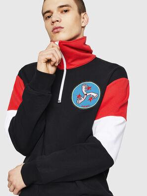 S-LEONID, Black/Red - Sweaters