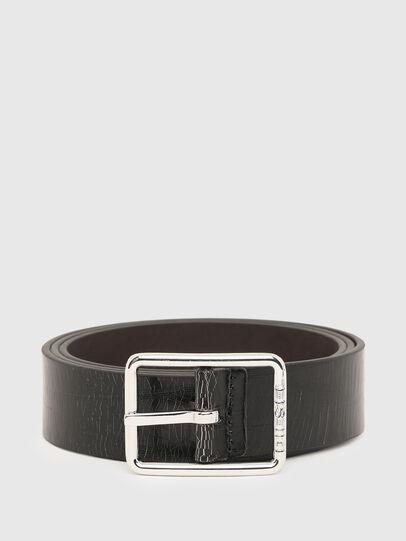 Diesel - B-PHOTO, Black/Brown - Belts - Image 1