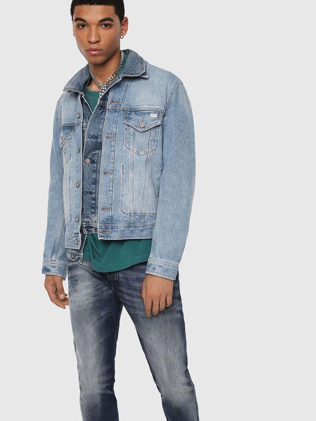 Diesel - D-Bazer 084DD, Medium blue - Jeans - Image 3