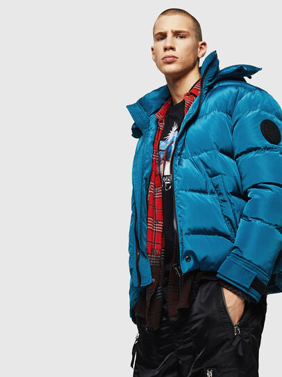 Diesel - W-SMITH-YA,  - Winter Jackets - Image 4