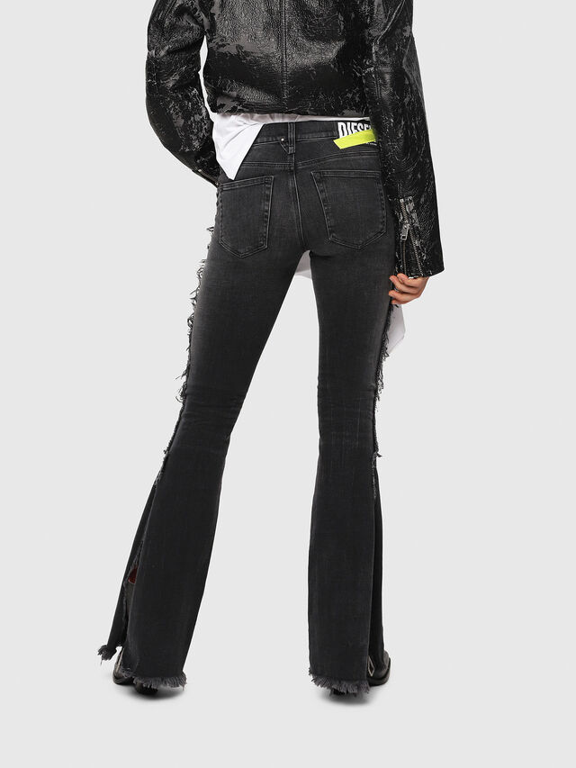 Diesel - D-Ebbey 081AH, Black/Dark grey - Jeans - Image 2