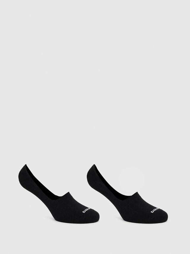 Diesel - SKM-NOSHOW-TWOPACK, Black - Socks - Image 1