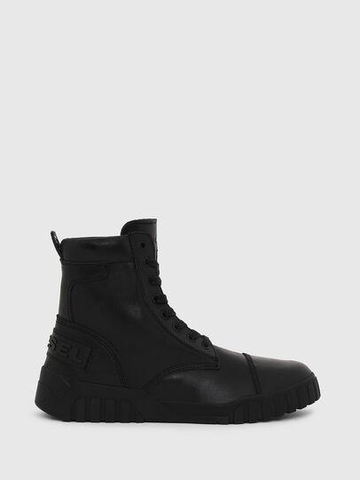 Diesel - H-RUA AM, Black - Sneakers - Image 1