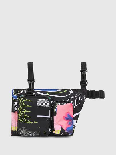 Diesel - WARMY, Black - Crossbody Bags - Image 1