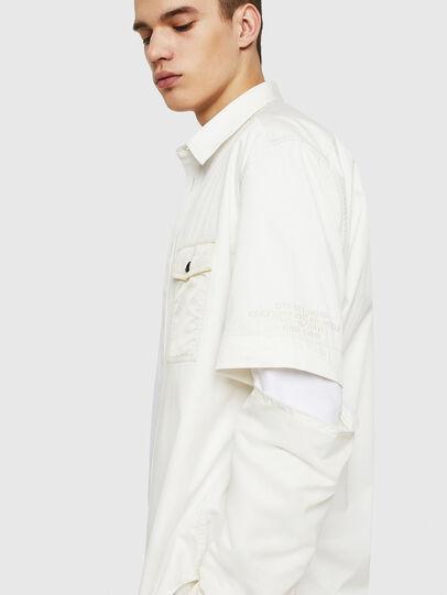 Diesel - S-KOSOV, White - Shirts - Image 4