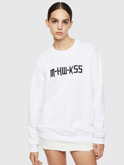Diesel - F-LYANY-H, White - Sweaters - Image 1
