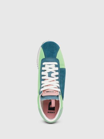 Diesel - S-PYAVE WEDGE, Green/Blue - Sneakers - Image 5