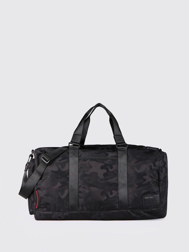 Diesel - F-DISCOVER DUFFLE, Black - Travel Bags - Image 1