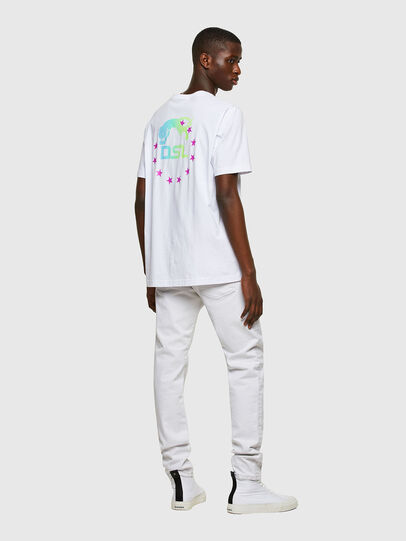 Diesel - T-JUST-E8, White - T-Shirts - Image 4
