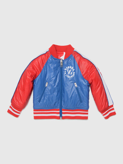Diesel - JBRANB, Blue/Red - Jackets - Image 1