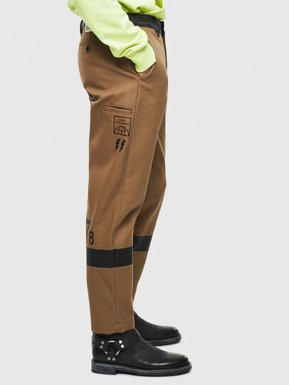 Diesel - P-KAPP, Brown/Black - Pants - Image 4
