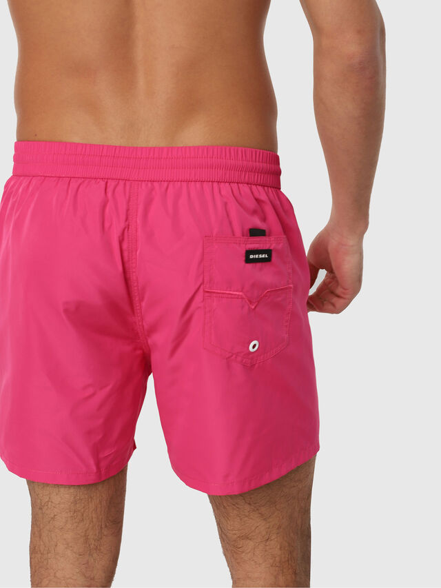 Diesel - BMBX-WAVE 2.017, Pink Fluo - Swim shorts - Image 2