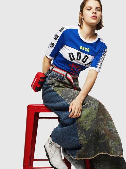 Diesel - DE-SHIRLEY, Medium blue - Skirts - Image 3