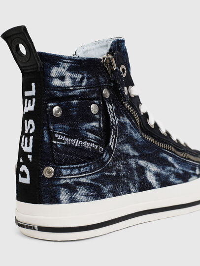Diesel - EXPO-ZIP W, Dark Blue - Sneakers - Image 4