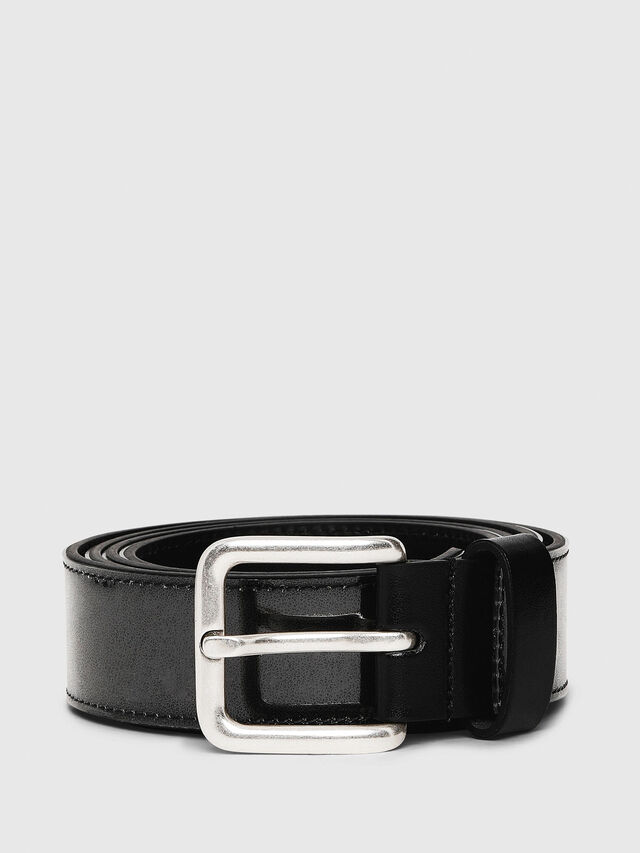 Diesel - B-STIC, Black/Green - Belts - Image 1
