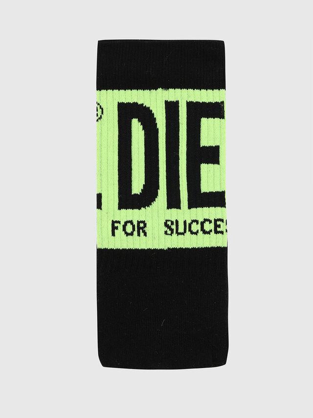 Diesel - DXF-RAY-TWOPACK, Black/Green - Socks - Image 3