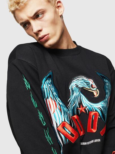 Diesel - S-BAY-EMB, Black - Sweaters - Image 3