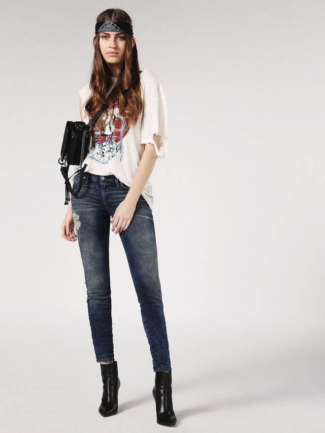 GRACEY-T JOGGJEANS 084PU, Blue jeans