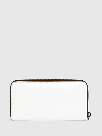 Diesel - 24 ZIP, White - Zip-Round Wallets - Image 2