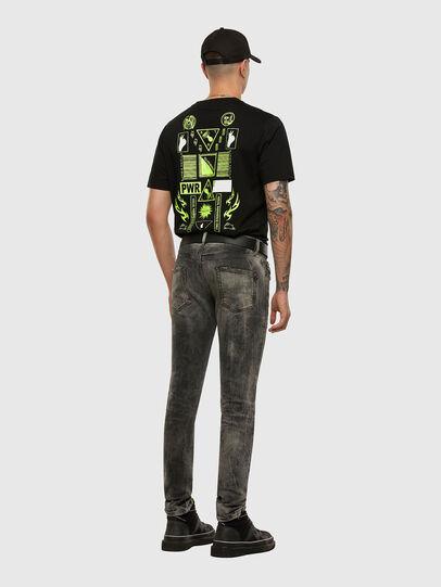 Diesel - D-Strukt 009EV, Black/Dark grey - Jeans - Image 6
