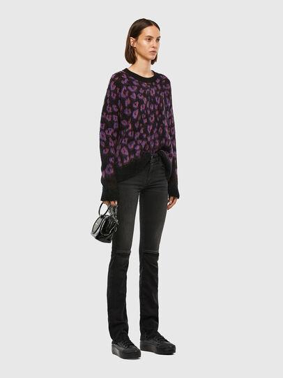 Diesel - M-RHONDA, Violet/Black - Knitwear - Image 5