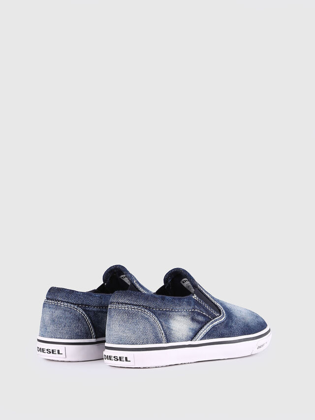 Diesel - SLIP ON 21 DENIM YO, Blue Jeans - Footwear - Image 3