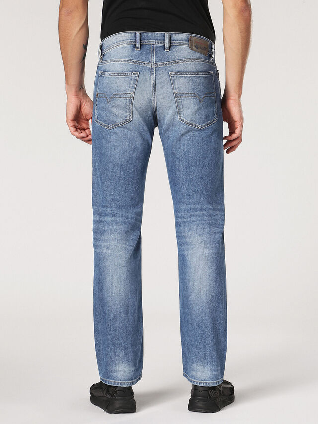 Diesel - Waykee 0842H, Light Blue - Jeans - Image 3