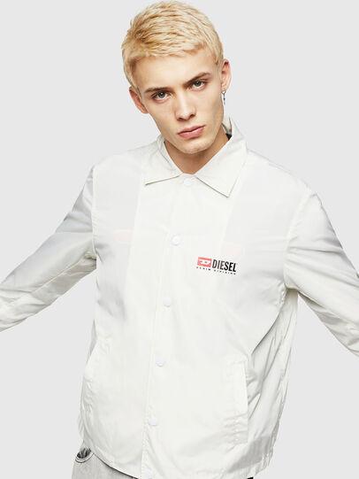Diesel - J-ROMAN-P, White - Jackets - Image 1