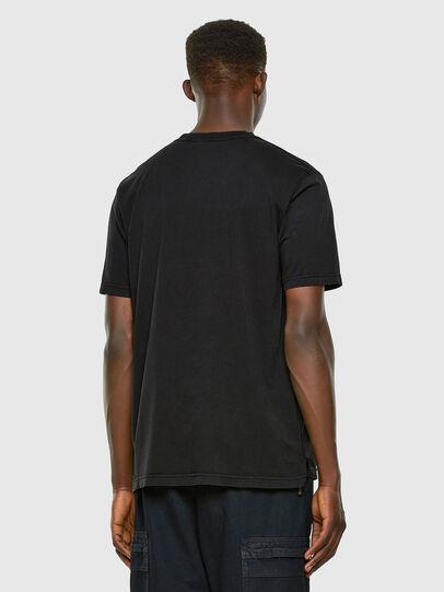 Diesel - T-JUBIND-SLITS, Black - T-Shirts - Image 5