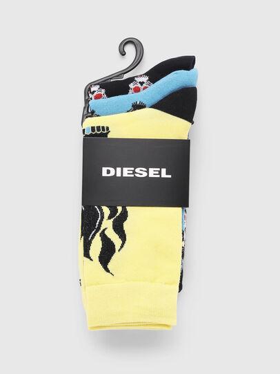 Diesel - SKM-RAY-THREEPACK, Multicolor - Socks - Image 2