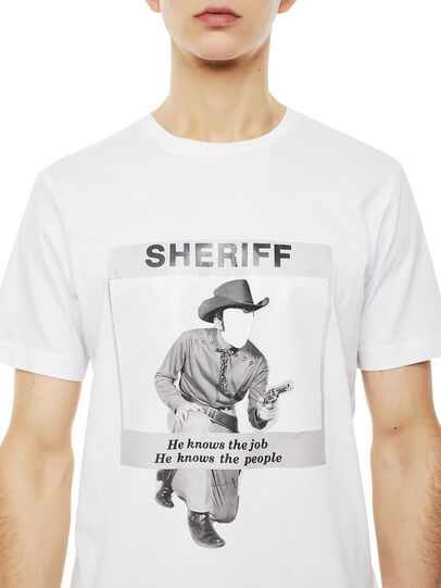 Diesel - TY-BIGSHERIFF,  - T-Shirts - Image 2