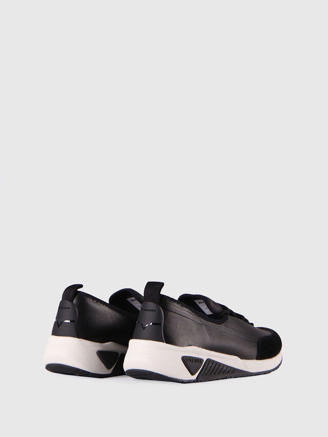 Diesel S-KBY, Black Leather - Sneakers - Image 3