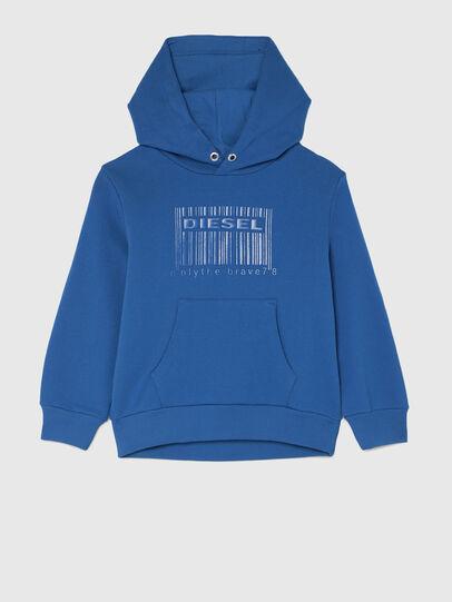 Diesel - SGIRKHOODCODE OVER, Blue - Sweaters - Image 1