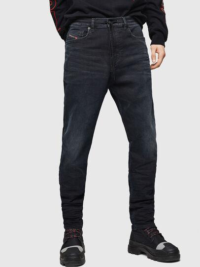 Diesel - D-Vider JoggJeans 069GE, Black/Dark grey - Jeans - Image 1