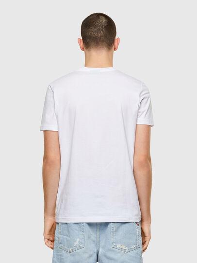 Diesel - T-DIEGOS-K41, White - T-Shirts - Image 2
