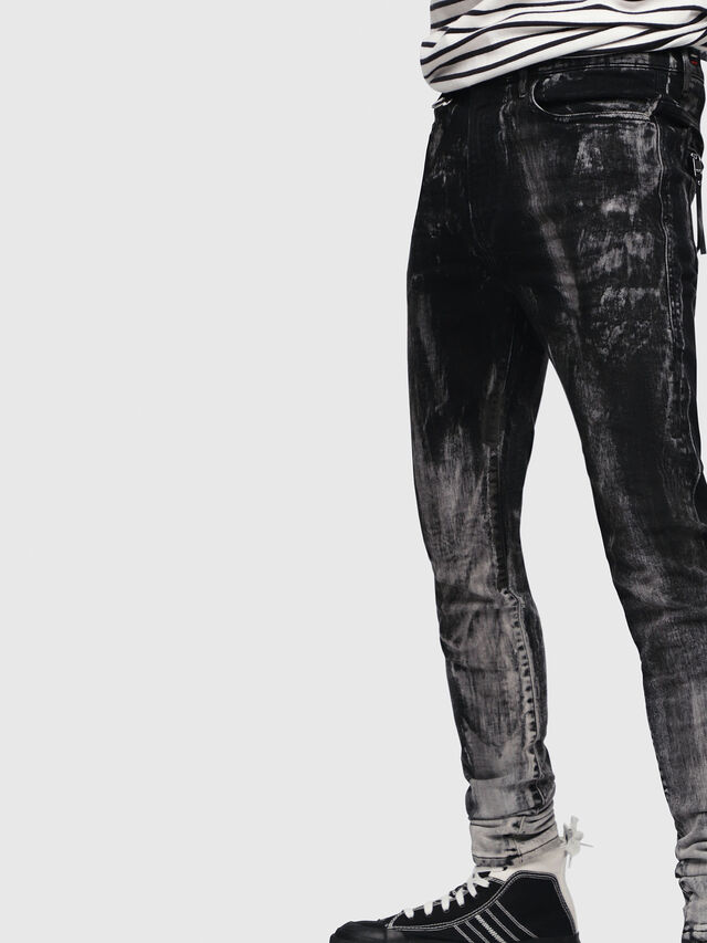 Diesel - D-Amny 089AF, Black/Dark grey - Jeans - Image 5