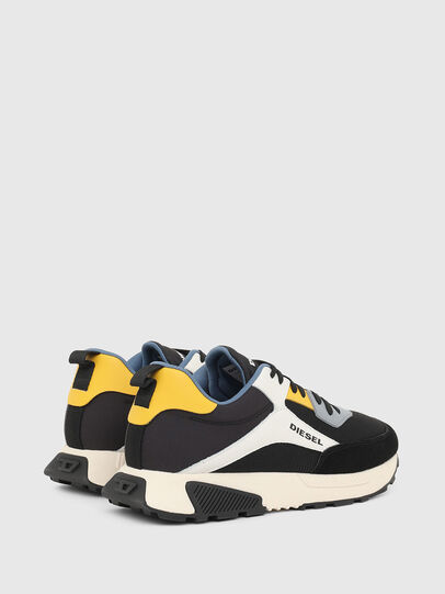 Diesel - S-TYCHE LOW CUT, Black/White - Sneakers - Image 3