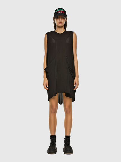 Diesel - D-EVEN-A, Black - Dresses - Image 6