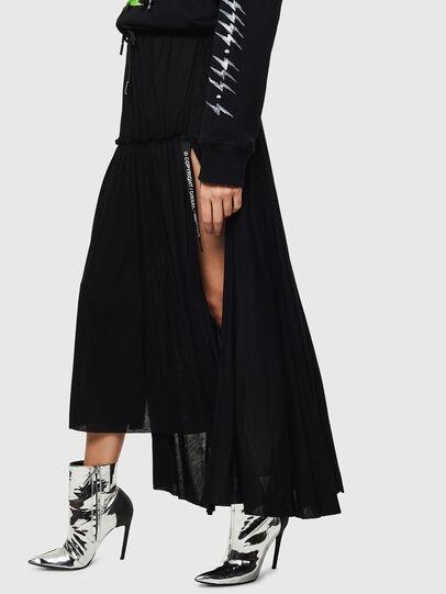 Diesel - O-FRIDA, Black - Skirts - Image 3