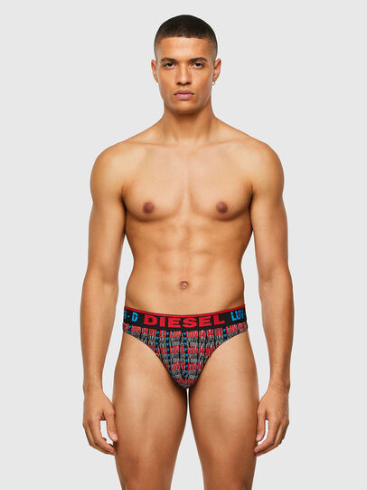Diesel - UMBR-STRING, Black/Red - Briefs - Image 1